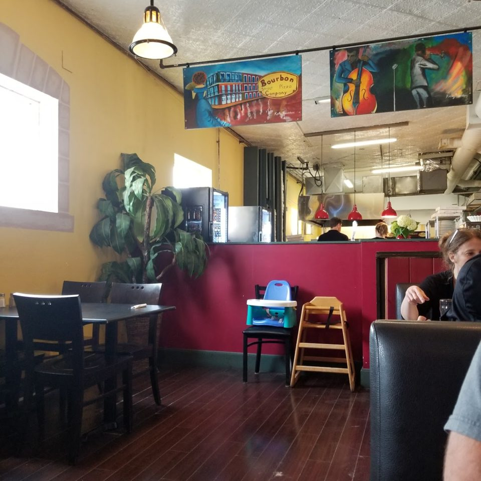 Bourbon Street Pizza Co. - Photo by Christina Brinklow.