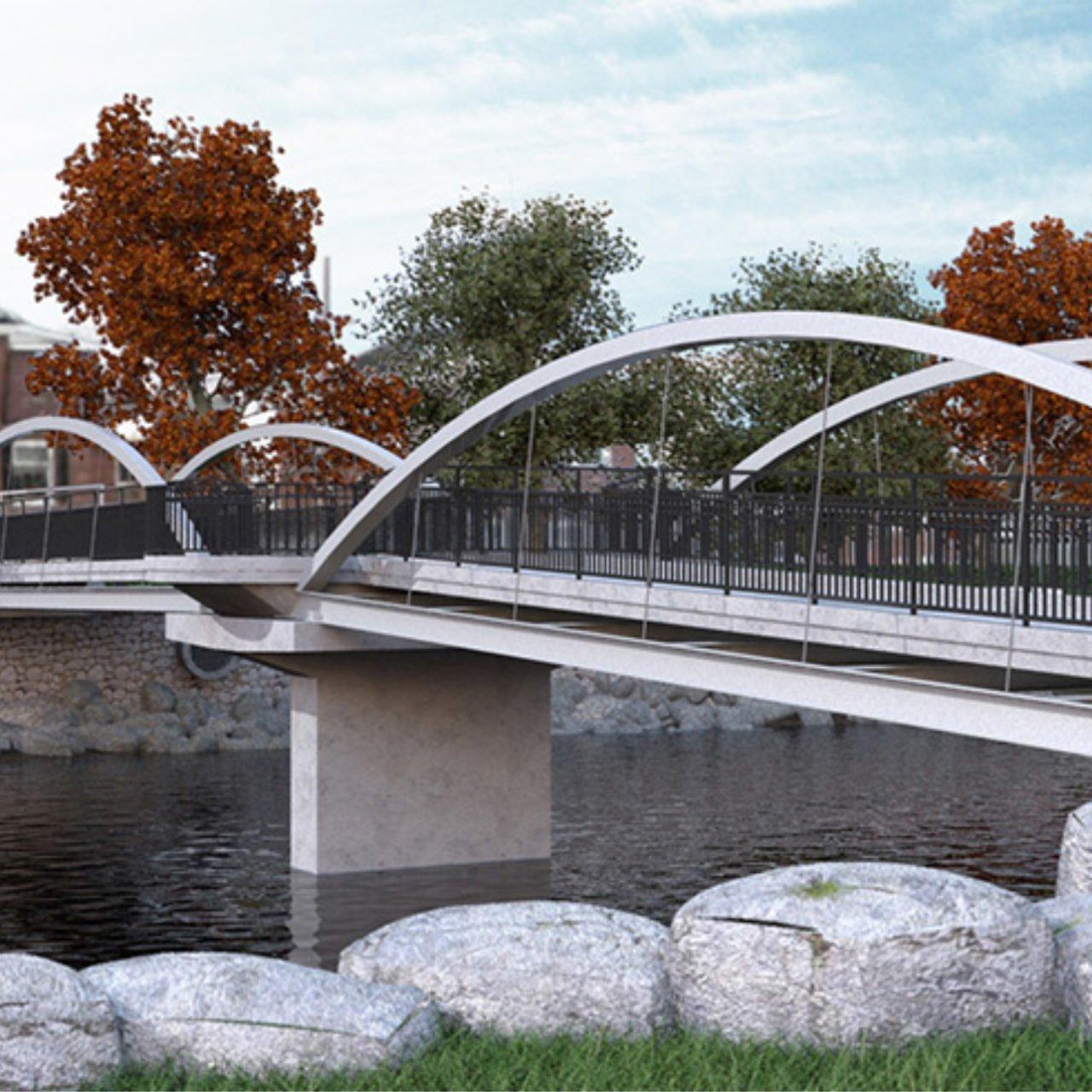 Pedestrian Bridge in 2020