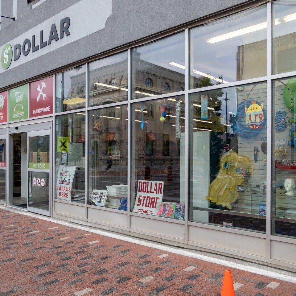 Front Dollar Store - Photo by Paul Lantz.