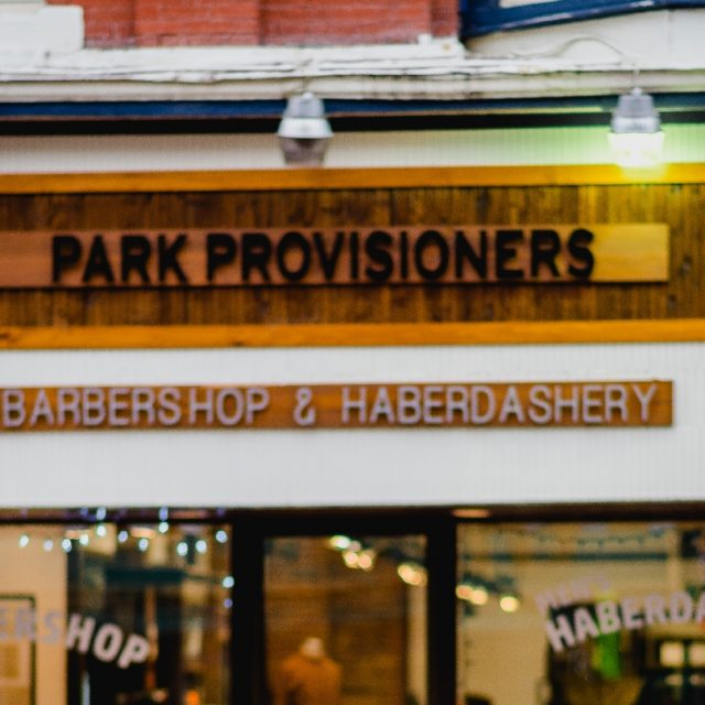 Park Provisioners - Photo by Park Provisioners Barbershop & Haberdashery.