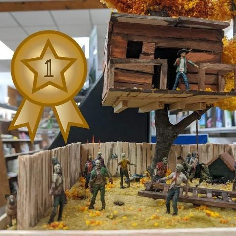 Check out these incredible dioramas by Scalliwag Toy customers! Congratulations to the winners ⭐️   #repost • @scalliwagtoys We are very happy to announce our August 2020 Diorama Competition Winners!  We had 8 awesome dioramas completed and submitted after our participants pursued a full month of constructing each with their own unique flair.  Thank you so much to everyone who participated and put their time and efforts into their little slice of a scene - you all did such a fantastic job, and we loved seeing what you came up with 🤩 Our choices for the winners were made based on what we felt told a good story, showed creativity in their execution, and the addition of their own twist to the elements of the diorama.  Each winner, including our People's Choice winner, will receive a Gift Card for the store according to their respective award level.  Youth Participant Award (Paint pot):