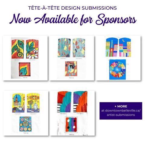 There are only THREE sponsorship slots left for the tête-à-têtes downtown! We are looking for personal and corporate sponsorship to help to cover the costs associated with the purchase of tête-à-têtes, as well as the fees and supplies for the eight local artists who will be chosen to paint the unique seating. ⁠ ⁠ Thank you to our sponsors so far:⁠ @mcdougall_insurance⁠ Councillor Tyler Allsopp, Owner of @dougsbicycle⁠ @moncepeo⁠ Complete Bookkeeping and Taxes⁠ @thespah⁠ ⁠ Designs are now available for sponsors to choose from and the submissions we received are stunning. A great representation of the passion for arts in Belleville. ⁠ ⁠ Visit the link in our bio [downtownbelleville.ca/sponsorship] to sign up today! ⁠ ⁠ ⁠ #downtownbelleville #dtbelleville #choosedowntownbelleville #shopdowntownbelleville #bayofquinte #shoplocalquinte #shopquinte #shopdowntownbelleville #discoverdowntownbelleville #quinte #bellevilleontario #bayofquinte #dtbelleville #greatwaterway  #SouthEasternOntario #bayofquinte #pec #downtowndistrictmarketplace #shopsmall #supportlocal