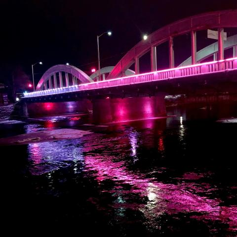 💜💕 Downtown bridge lit for Valentine's weekend 💕💜⁠ ⁠ ⁠ ⁠ ⁠ #downtownbelleville #dtbelleville #choosedowntownbelleville #shopdowntownbelleville #bayofquinte #downtownbelleville #shoplocalquinte #shopquinte #shopdowntownbelleville #discoverdowntownbelleville #quinte #bellevilleontario #bayofquinte #dtbelleville #greatwaterway  #SouthEasternOntario #bayofquinte #pec #downtowndistrictmarketplace #shopsmall #supportlocal