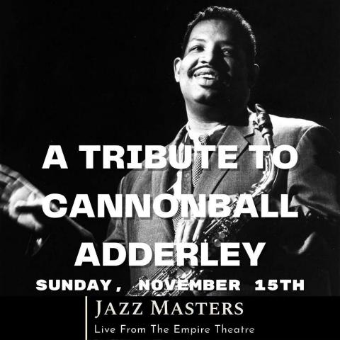 A perfect way to spend your afternoon on a day like today. Repost • @theempiretheatre Live From The Empire Theatre. Jazzmasters presents a Tribute to Cannonball Adderley, Sun. November 15th @ 2 p.m. Brought to you by @pecjazzfestival WATCH ON LINE:  https://vimeo.com/470677083 #livefromtheempiretheatre #pecjazzfestival #jazzmasters #jazz #cannonballadderley