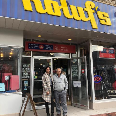 Roluf's is making bold changes to their business. Over the past few months Jasmine and her father Andy have been renovating the interior of their store to make it easier for customers to shop with more space between fixtures, new wall displays, enhanced lighting and increased accessibility.⠀ ⠀ They have been working very hard applying for government grants to make it happen including the RE3, the Accessibility grant and the DMS Digital Transformation grant. Check out the new interior!   (Some renovations are still under way for lighting and accessibility.) ⠀ ⠀ ⠀ ⠀ ⠀ #downtownbelleville #dtbelleville #choosedowntownbelleville #shopdowntownbelleville #bayofquinte#downtownbelleville #shoplocalquinte#shopquinte #shopdowntownbelleville #discoverdowntownbelleville#quinte #bellevilleontario#bayofquinte #dtbelleville#greatwaterway  #SouthEasternOntario #bayofquinte#pec#downtowndistrictmarketplace #shopsmall #supportlocal